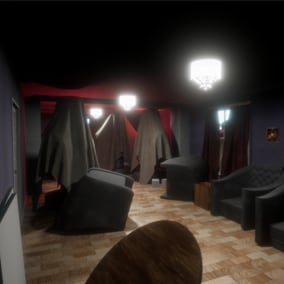 High detailed atmospheric rooms
