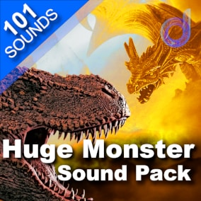 A terrifying package of 101 professional-quality sound effects for monsters, small beasts, huge behemoths, dragons and much more.