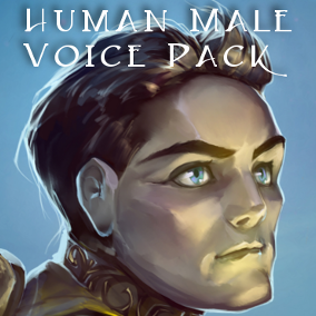 This human male voice pack contains over 231 individual voice assets of a human male for your RPG, fantasy game or movie project including spell incantations.