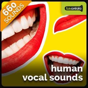 660 Realistic and flexible set of high quality human vocal sounds containing different expressions and emotions. Comes with several variations to enrich the immersion. Suitable for multiple genres.