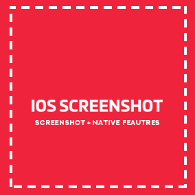The Blueprint Plugin for iOS. Native screenshots making + some native features.