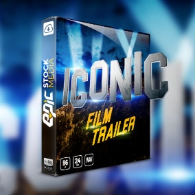 Cause some serious sonic mayhem with Iconic Film Trailer, a modern & powerful curated collection of sought after epic movie trailer styled sound effects.