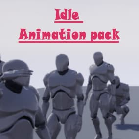 Casual mannequin animations for background characters!