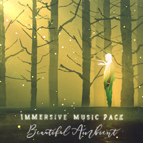 Immersive Beautiful Ambient Music Pack includes 4 background music and 8 music stingers and SFXs for your game!