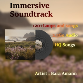 Immersive soundtrack, loops, tempo variations allow you to control everything