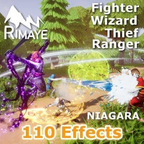 This pack contains 110 various effects to improve and boost fights in your stylized projects : Dashes, Anim Trails, Hits, Explosions, Projectiles, Arrows, Arrowrain, Cannons, Auras...