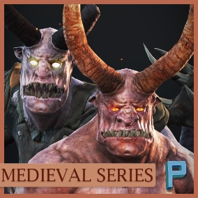 AAA quality Demons ready to use in your game. VR ready!