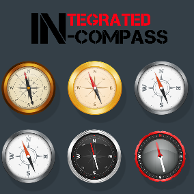 Outstanding modular compass system incorporating magnetic disturbance and utilising world rotation or a polar actor.