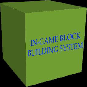An In Game Building System.