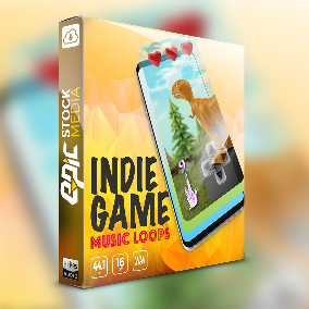 Fun, simple, light hearted, Indie Game Music Loops is perfect for minimalistic mobile app, arcade, and causal games.