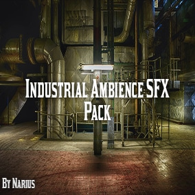 This pack contains 100 high quality industrial ambience sound effects.