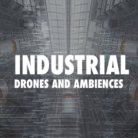 A collection of drones, ambiences and room tones.  Perfect for Science Fiction / Industrial Projects