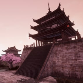 Infinity Blade Temple is a collection of high quality Eastern inspired and desert environment pieces. Built from a collection of content from Infinity Blade I, II and III.