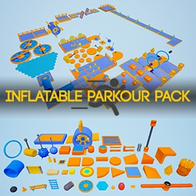 A set of 48 modular assets to be used for your next parkour/party game. More assets will be added in the future.