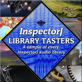 200+ taster sounds from every audio library by InspectorJ!