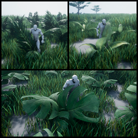 Our first pack of plants with physics able to interact with your character in a realistic way. Made exclusive for video games.