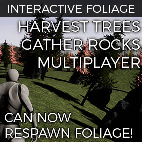 Enables you to be interactive with your Foliage.
