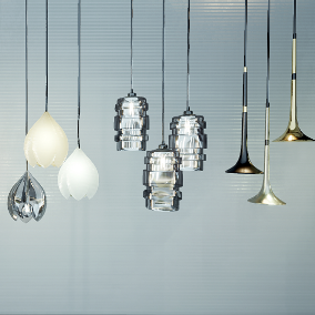 51 interactive ceiling lights for your interior display.