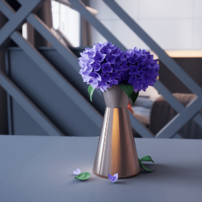 Archviz with high quality assets in modern design.