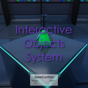 A modular and customizable system for interactive objects with inventory.