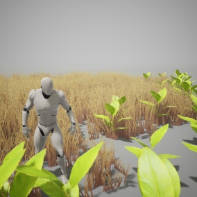 Interactive Plant System is a Shader based solution for handling interaction with foliage.
