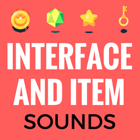A collection of interface, clicks, menus, items powerups and gameplay sounds.