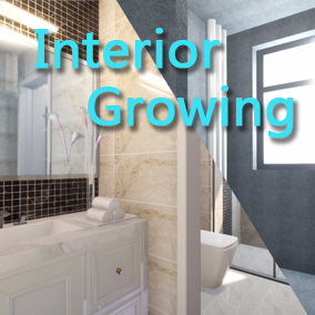 This example shows you how to create a Interior growth with a slice material