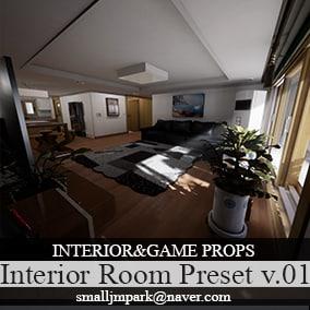 Interior Room Preset v.01