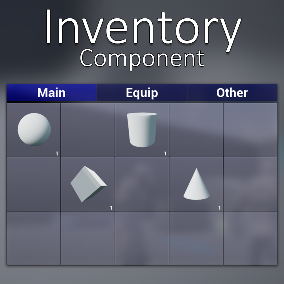 A component which gives you an advanced tab-based inventory by just adding it to any actor!
