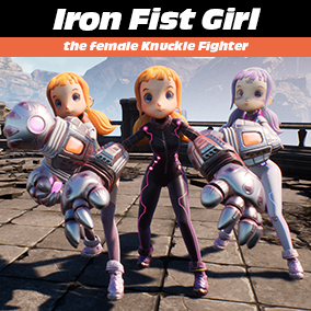 High Speed Close Combat Female Character.