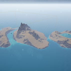 Get 150 patterns to create island detailed landscapes for the latest water system.