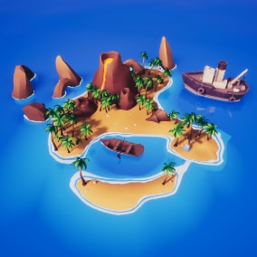 Isometric Islands Pack With controller