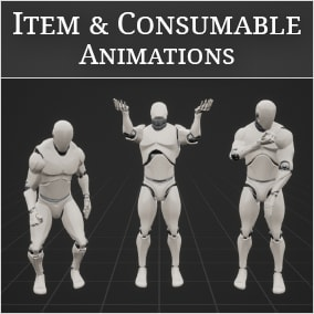 From drinking potions to defusing the bomb: For all the non-combat animations you need!