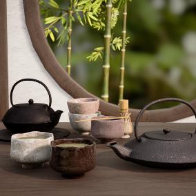 It is a japanese tea set.