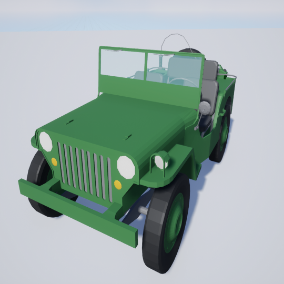 3D model off road vehicle ready for use in optimal visual quality