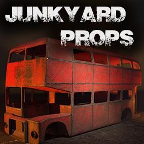 Junkyard Props with Blueprint System