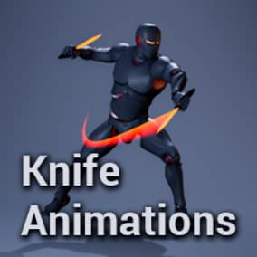 Knife Animations Pack
