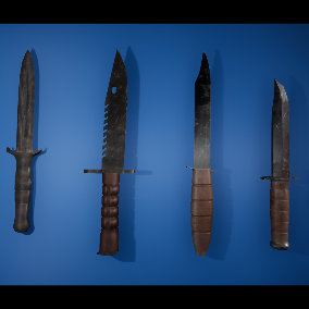 High Quality Collection FPS or Decoration Knife Pack