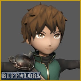 Hi, everyone This is the game-ready character model.