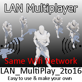 LAN Multiplay 2to16 is simple, easy to use & make your own.