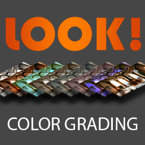 LOOK! - Color Grading Pack contains 150 LUT files.