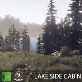 Lake Side Cabin is a AAA high quality nature pack with over 50 assets to build a beautiful nature scene.