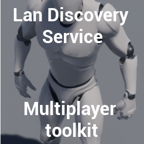 Autodiscovery service of Servers that host multiplayer matches in the local LAN Network.