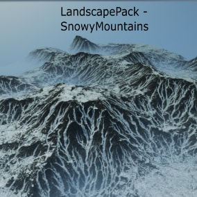 Five highly detailed landscapes with foliage and 9 paint layers with switchable textures.