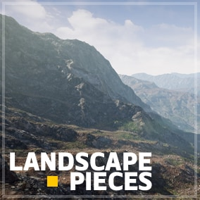 25 Unique maps with 5 different Biome (Rigged Mountains,Plateaus,Dunes,Rocky Hills and Smooth Ridges)