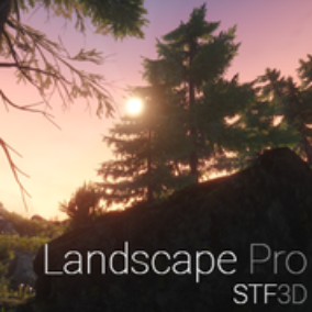 High-Quality Landscape Material with Lots of Features, many Meshes, Textures, and Know-How.