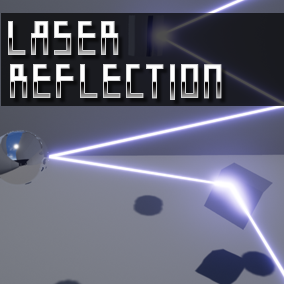 This Blueprint allows you to implement laser reflections.