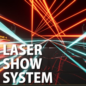 This asset is a more realistic laser asset in virtual stage. Set up by using Animation Sequence(include many presets). Each parameter can also be set in detail.