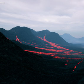 Lava Landscape v2.0 is 64 Square Kilometers of scorched lands.