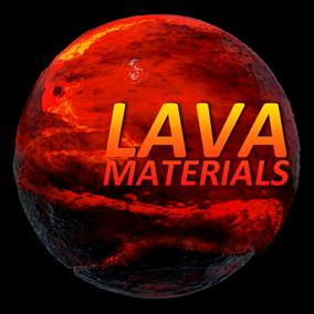 33 Realistic Lava Materials.